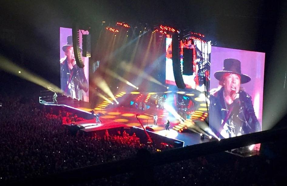Guns N' Roses i Köpenhamn